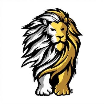 Mascotte de lion