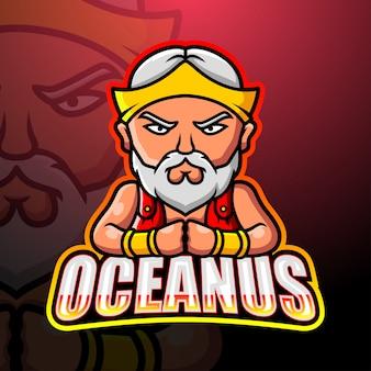 Mascotte d'oceanus esport
