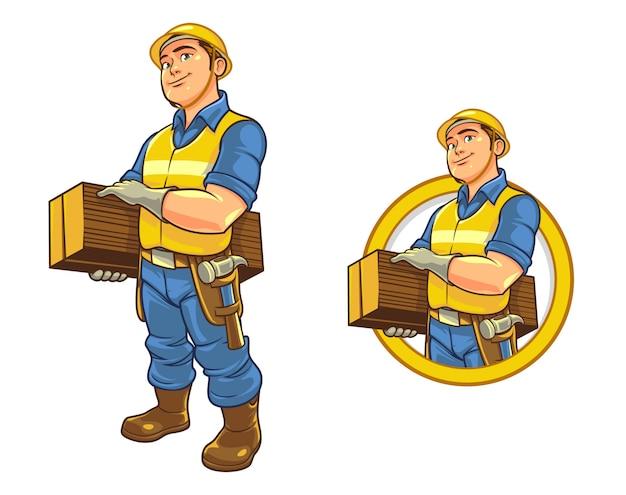 Mascotte professionnelle de dessin animé