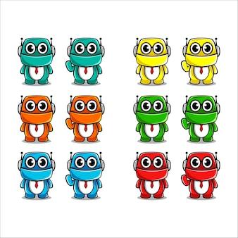 Mascotte de robot