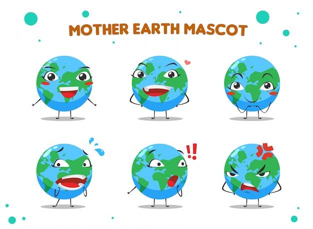 Mascotte de la terre mère