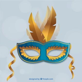 Masque de carnaval brésilien réaliste