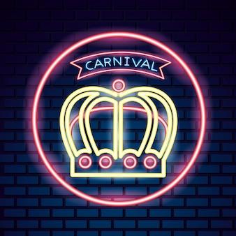 Masque de carnaval festif