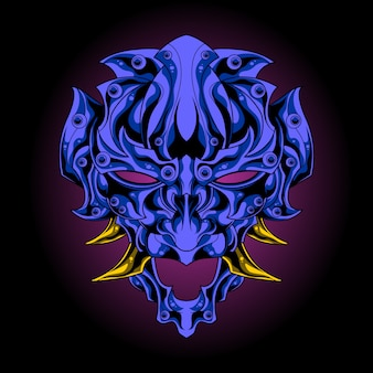 Masque démon océan