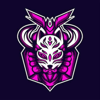 Masque kitsune