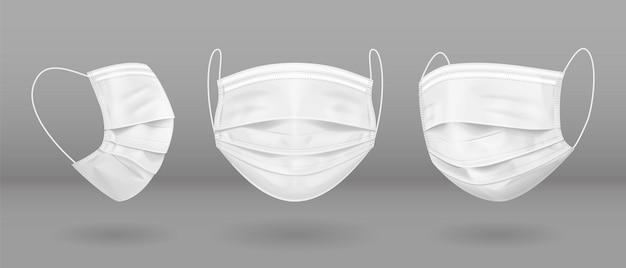 Masque médical blanc