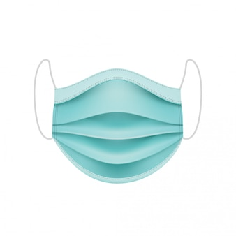 Masque protecteur. concept de coronavirus.