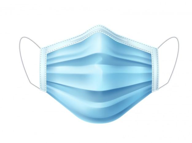 Masque respiratoire à masque facial 3d contre l'infection