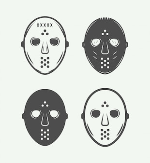 Masques de hockey