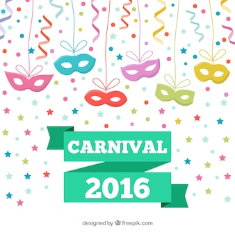 Masques pour les yeux pour le carnaval 2016