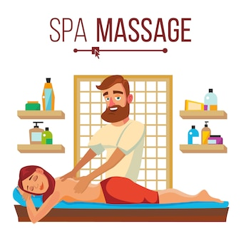 Massage au spa