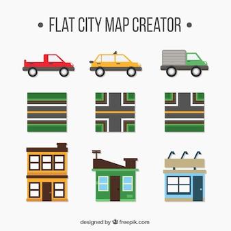 Matériaux pour créer une ville