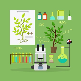 Matériel de recherche en biologie