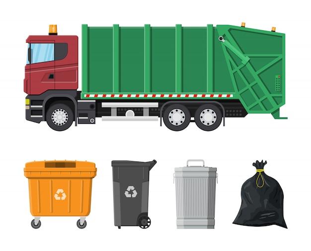 Matériel de recyclage et d'utilisation