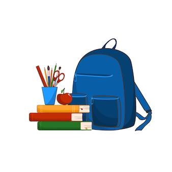 Matériel scolaire retour à l'école