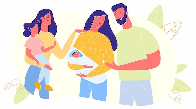Maternité, paternité, parentalité, personnes avec des enfants