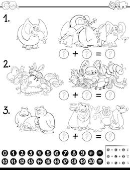 Maths activité coloriage