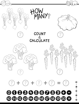 Maths jeu coloriage