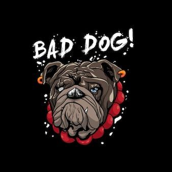 Mauvais bulldog