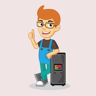 Mécanicien ou technicien en informatique