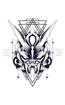 Mecha géométrie sacrée