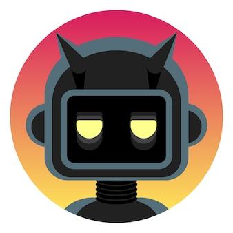 Méchant robot android méchant