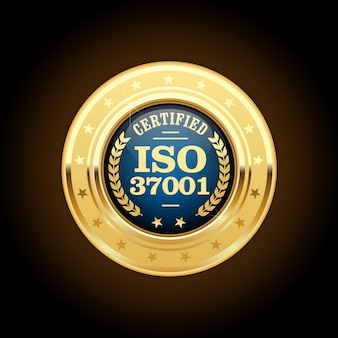 Médaille certifiée iso 37001