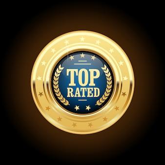 Médaille certifiée la mieux notée