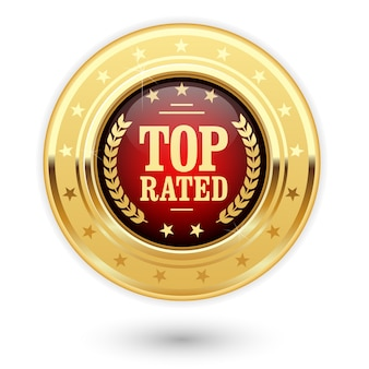 Médaille la mieux notée - classement des insignes d'or