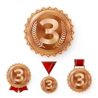 Médailles de bronze de champion