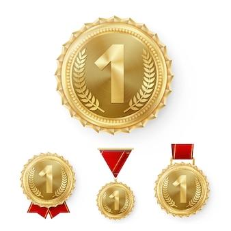 Médailles de champion