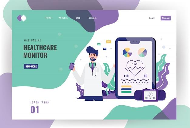 Un médecin brandit un écran de téléphone