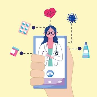 Médecin en ligne télémédecine