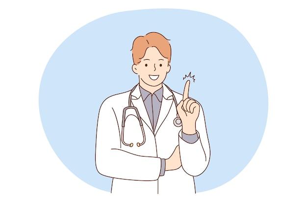 Médecin, médecine, concept de soins de santé.