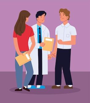 Médecin professionnel et couple