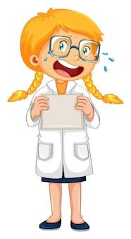 Un médecin qui pleure en uniforme