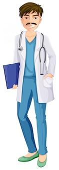 Un médecin de sexe masculin