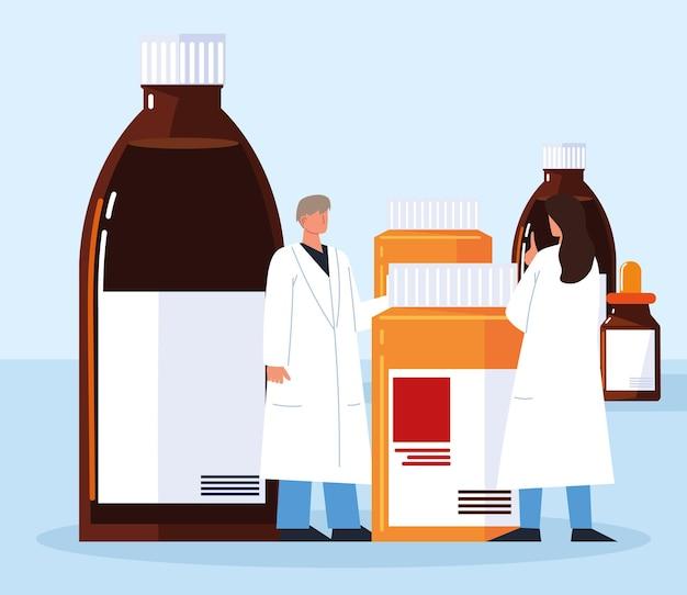 Médecine pharmaceutique professionnelle