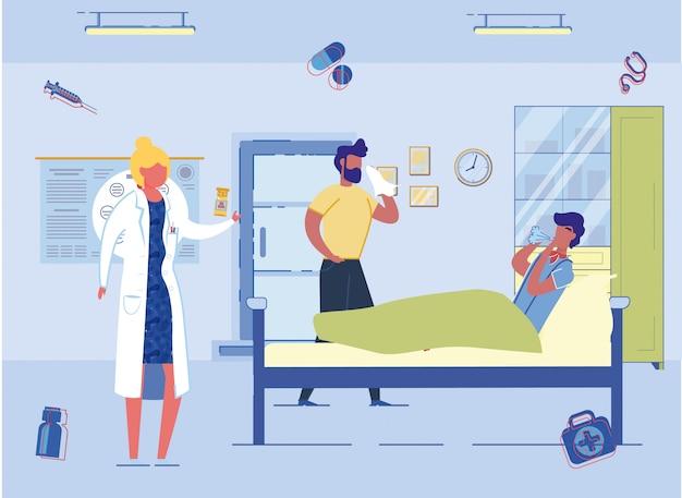 Médecine préventive pour la protection contre les épidémies.