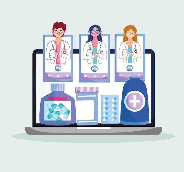Médecins de la santé en ligne