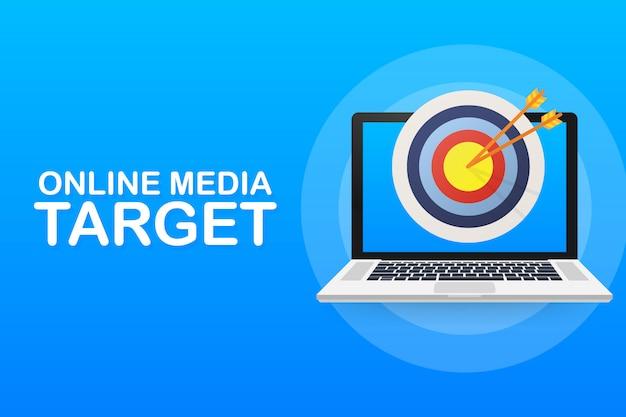 Médias en ligne, public cible, marketing numérique.