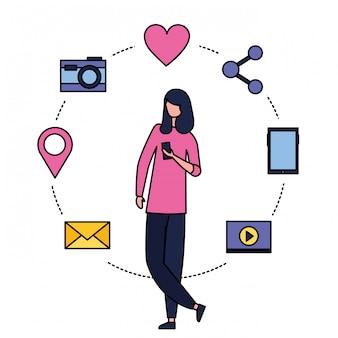 Médias sociaux numériques