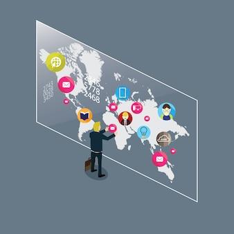 Les médias sociaux à travers le monde