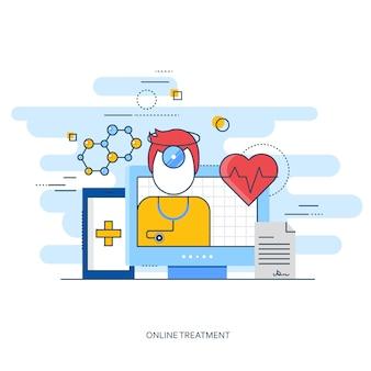 Medical et pharmacie design plat