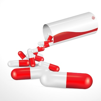Médicament rouge