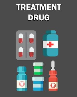 Médicament de traitement