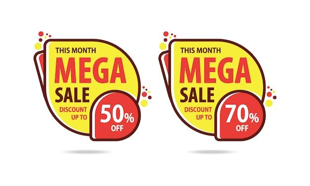 Mega sale discount