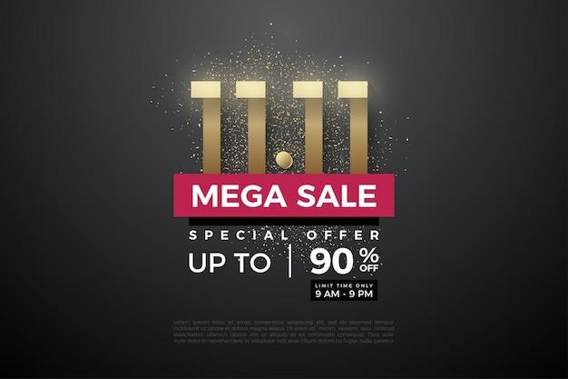 Méga vente sur 1111 vente avec numéro de modèle