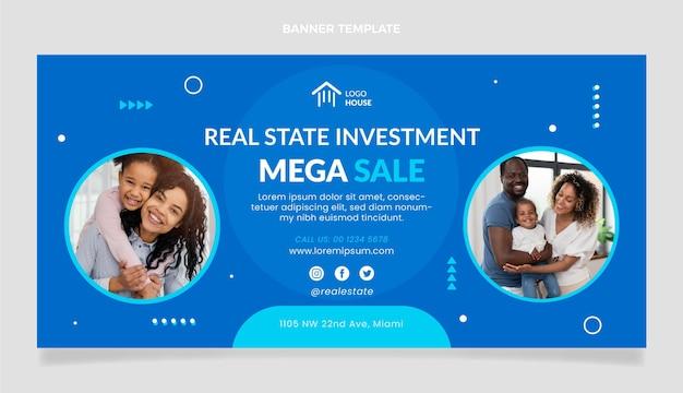 Méga vente d'investissement immobilier