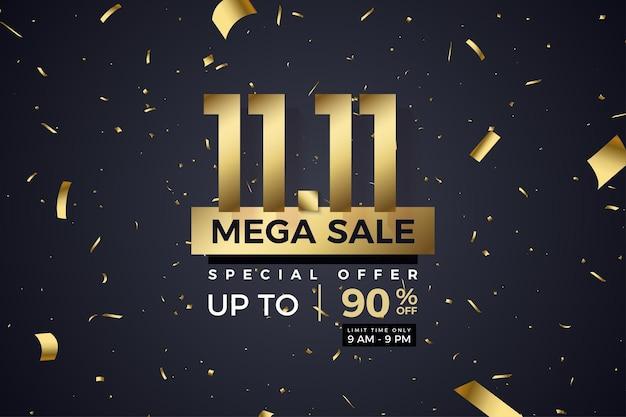 Méga vente et offre spéciale limitée à 1111 vente